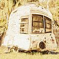 Retrod The Comic Caravan by Jorgo Photography - Wall Art Gallery