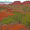 Return Trail To Elephant Hill In Needles District Of Canyonlands National Park-utah by Ruth Hager