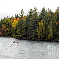 Returning From A Canoe Trip by Les Palenik
