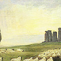 Returning Home     Stonehenge by Edgar Barclay