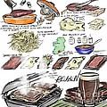 Reuben Sandwich by Lisa Owen-Lynch