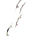Rev Kites On White 1 by Rob Huntley