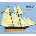 Revenue Cutter Alexander Hamilton by Jerry McElroy - Public Domain Image