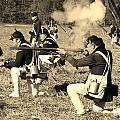 Revolutionary War Battle by George Fredericks