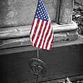 Revolutionary War Veteran Marker by Teresa Mucha