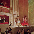 Revue At The Theatre Des Varietes, C.1885 Oil On Canvas by Jean Beraud