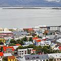 Reykjavik On The Water by Patricia Hofmeester