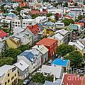 Reykjavik by Patricia Hofmeester