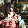 Reynolds' Lady Elizabeth Delme And Her Children by Cora Wandel