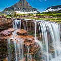 Reynolds Mountain Falls by Inge Johnsson