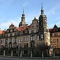 Rezidenzschloss - Dresden  -  Germany by Christiane Schulze Art And Photography