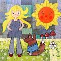 Rhian And Nog by Julie Bull