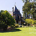 Rhine House At Beringer Winery St Helena Napa California Dsc1722 by Wingsdomain Art and Photography