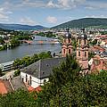 Rhine River by John Johnson