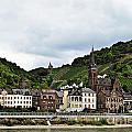 Rhine River View by Elvis Vaughn