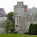 Rhoads Hall Bryn Mawr College by Georgia Fowler