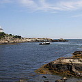 Rhode Island Seascape And House by Christiane Schulze Art And Photography