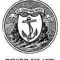 Rhode Island State Seal by Granger