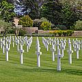 Rhone American Cemetery by Allen Sheffield