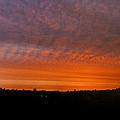 Rhymney Valley Sunrise Panorama by Steve Purnell