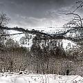 Rhymney Valley Winter 5 by Steve Purnell