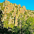 Rhyolite Columns On Ed Riggs Trail In Chiricahua National Monument-arizona by Ruth Hager