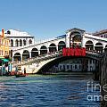 Rialto Bridge Venice by Timothy Hacker