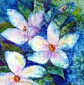 Ricepaper Blooms by Patricia Beebe