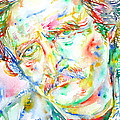 Richard Brautigan  by Fabrizio Cassetta