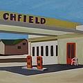 Richfield Gas Station by Lety Garcia