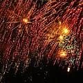 Richmond Fireworks by Gordon Cain