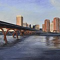 Richmond Virginia Skyline by Donna Tuten
