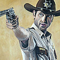 Rick Grimes by Tom Carlton