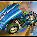 Rick In His 1958 Echidna by Blake Richards