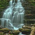 Ricketts Glen Cascading Falls by Adam Jewell