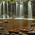 Ricketts Glen Oneida Falls by Adam Jewell