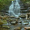 Ricketts Glen Waterfall Canyon by Adam Jewell