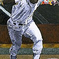 Rickey Henderson by Mike Rabe