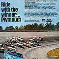 Ride With The Winner... Plymouth by Digital Repro Depot