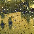 Ridgewood Wet With Rain St Matthias Roman Catholic Church by Mieczyslaw Rudek Mietko