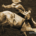 Riding White Knight by J L Woody Wooden