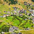 Riederalp Switzerland With Golf Course by Matthias Hauser