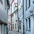 Riga Narrow Street by Antony McAulay