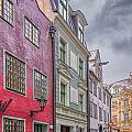 Riga Street by Antony McAulay