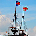 Rigging And Flags by Bill Cannon