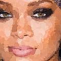 Rihanna Portrait by Samuel Majcen