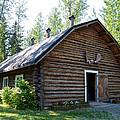 Rika's Barn In Big Delta Historical Park-ak  by Ruth Hager