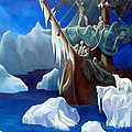 Rime Of The Ancient Mariner A Tribute To Gustave Dore by Rosemarie Morelli