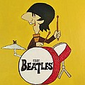 Ringo Starr The Beatles by Donna Wilson