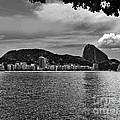 Rio De Janeiro Panoramic Of Baia De Guanabara And Sugar Loaf by Carlos Alkmin